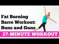 The 27-Minute Barre Buns and Guns Home Workout - Jessica Smith TV