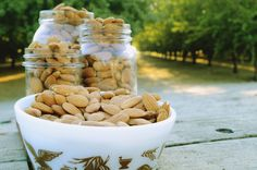 Vieker Hill is selling raw unpasteurized almonds from our small family farm. To ensure your product lasts as long as possible, please store your almonds in a cool, dry place.We ship the almonds in 5 pound vacuum seal bags for $35 and this includes shipping. If you buy 10 pounds, they will come in two five pound bags.