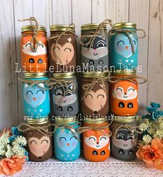Ideas For Baby Shower Woodland Theme Decorations Mason Jars First Birthday Centerpieces, Baby Shower Table Centerpieces, Baby Shower Decorations For Boys, Baby Shower Themes, Table Decorations, Outdoor Decorations, Birthday Table, Shower Ideas, Diy Decoration