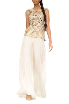 Payal Singhal Backless Choli Suit - Buy it Now scarletbindi.com