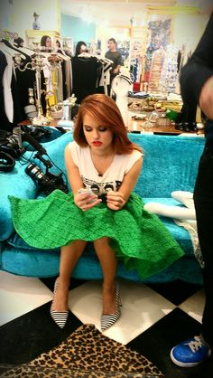 Debby Ryan. i just think she's so cool.