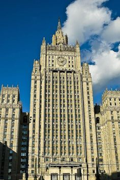 Ministry of Foreign Affairs building in Moscow Jack Versloot, Public Domain