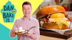 Breakfast Sandwich Cake 🍳DAN CAN BAKE IT CHALLENGE #4