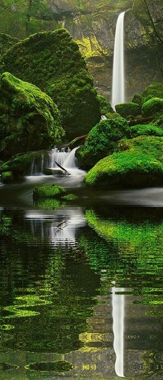 Elowah Falls, Oregon pin via @sunishsebastian