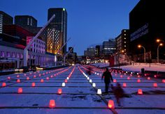 Champ de pixels | por Quartier des spectacles, Montréal