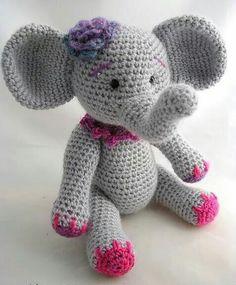 Percy the baby elephant crochet pattern pdf baby elephants ravelry ellie the elephant pattern by br bears dt1010fo