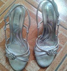 sandália prata via marte - sandálias via marte