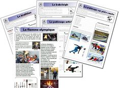 Bobsleigh, Core French, French Class, Nagano, French Resources, Luge, Teaching French, Olympic Games, Winter Time