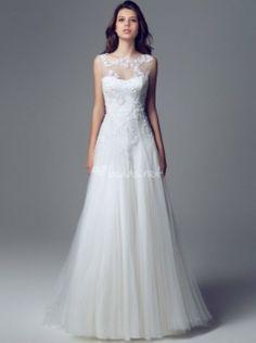 Vestido de Blumarine 2014 - http://www.bodas.net/articulos/10-vestidos-de-novia-con-encaje-2014--c2328