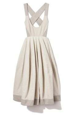 Jersey Bodice Dress by Donna Karan for Preorder on Moda Operandi