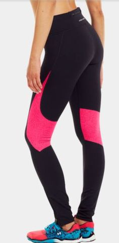 Love those tights from Under Armour
