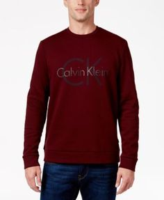 CALVIN KLEIN Calvin Klein Men's Graphic Sweater. #calvinklein #cloth # sweaters