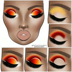 makeup tutorial step by step pictures without makeup Rainbow Eyeshadow Eyes Eyeshadow Makeup Pictures step Tutorial makeup steps Makeup Eye Looks, Eye Makeup Steps, Eyeshadow Looks, Eyeshadow Makeup, Natural Eyeshadow, Simple Eyeshadow, Brown Eyeshadow, Yellow Eyeshadow, Glitter Makeup