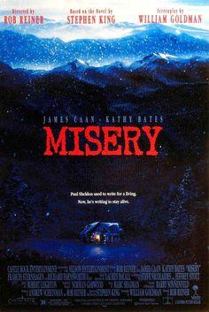 12 Best Stephen King Horror Movies (Plus a Bonus Guilty Pleasure): Misery Films Stephen King, Misery Stephen King, Film Movie, See Movie, Scary Movies, Great Movies, Horror Movies, Halloween Movies, Scary Halloween