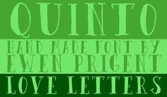 Quinto (font) by La Boite Graphique on Creative Market