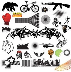 Cool Mixed Vector Elements Pack - http://www.welovesolo.com/cool-mixed-vector-elements-pack/