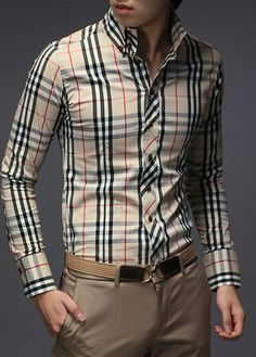 Mens Burberry Forever Button-Up