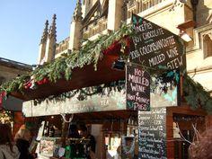 Bath Christmas Market - refreshments