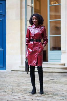 74 chic street style looks spotted at Paris Couture Week.