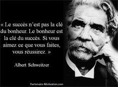 citations d'albert schweitzer | 11. « Face à la roche, le ruisseau l'emporte toujours, non pas par ...