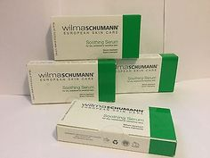 Wilma Schumann European Skin Care. Soothing Serum Set 4 Boxes 0.5.fl Each