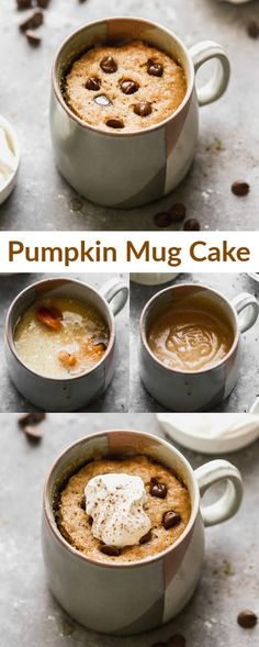 This warm and delicious Pumpkin Mug Cake is cooked in the microwave, making it the easiest and fastest single serving dessert to satisfy your sweet tooth! #pumpkin #mugcake via @betrfromscratch