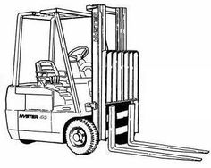 Hyster Diesel/LPG Forklift Truck D003 Series: H30H, H40H, H50H, H60H Spare Parts List, EPC in