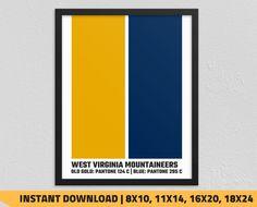 West Virginia Mountaineers Man Cave West Virginia