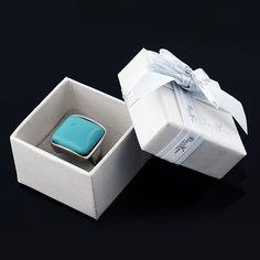 8590466ae3df8 5 5 3.5cm Cajas de Anillos cajas para pendientespara Joyeria Acero de  Baoyan… Pablo · Estuches para joyas
