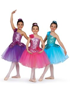 14294 - I'll Be There #dancecostume #dancerecital #sequindress
