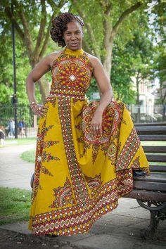 AzizANaturalBeauty on Etsy ~Latest African Fashion, African Prints, African… African Print Dresses, African Dresses For Women, African Print Fashion, African Attire, African Wear, African Women, African Prints, Ghanaian Fashion, Nigerian Fashion