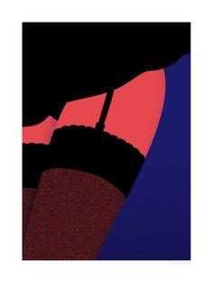 Cabaret-Thomas Danthony Sergeant Paper editions Giclee print sur papier Innova 210 gr 50x70 cm - 1/50 ex Numéroté et signature numérique