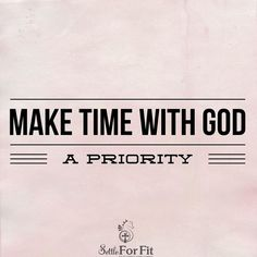 Time with God renews your strength to love be kind and encourage those around us.  Live a balanced life by spending some quality time with Him each and every day
