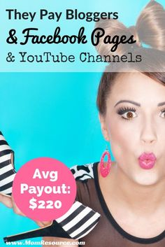 Their average payout is $220 (I got only $160 because it was my first post), but this network is not just for bloggers! They pay to post on blogs as well as online communities like Facebook Pages & YouTube Channels. Find out how you can qualify.