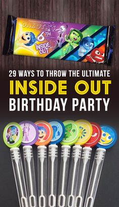 "29 Ways To Throw The Ultimate ""Inside Out"" Birthday Party"