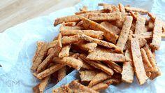 DOMA navařeno: Luštěninové krekry - bezlepkové Apple Pie, Carrots, Cereal, Vegan, Vegetables, Cooking, Breakfast, Desserts, Food