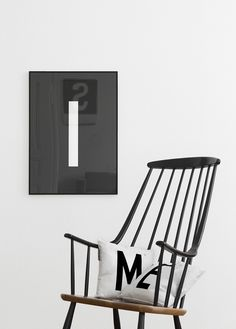 It's time to rock this chair! Shop our Din Berlin pillows and our Din Berlin poster on www.typehype.com