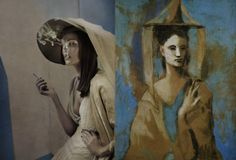 We all know Picasso liked to paint people with really weird facial features and eyes mixed up all over their faces. Now, imagine what would happen if Picasso's paintings were played out in real life. The result is surprisingly glamorous. These photos by Eugenio Recuenco are absolutely fantastic.