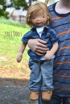 Diy baby boy toys doll houses New ideas Baby Boy Toys, Sewing Dolls, Doll Tutorial, Waldorf Dolls, Boy Doll, Soft Dolls, Fabric Dolls, Rag Dolls, Doll Crafts