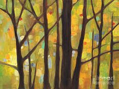 Image result for fall tree painting ideas