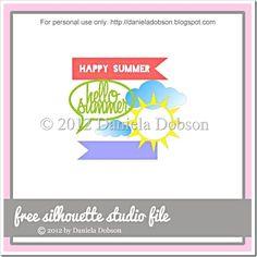 Hello Summer by Daniela Dobson