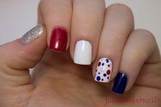 4th of July Nails | JulieDoesHerNails