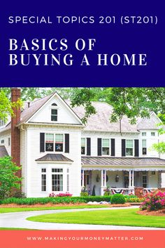 Everything you need to know to buy and finance a home, including step-by-step instruction from making a list of your needs to researching the housing market, setting up financing and analyzing the true cost of home ownership.