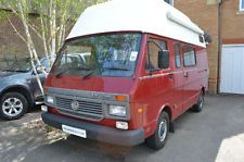 Young Conversions Bespoke VW LT35 Motorhome 4 berth Shower Awning Bike Rack