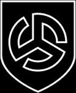 The runic symbol of the Langemarck Division. The 27th Waffen-SS Division Langemark  was composed of Flemish volunteers. It primarily fought on the Eastern Front, where it proved its bravery and tenacity in many bloody battles, including the siege of Leningrad (then known as 'SS Volunteer Legion Flandern'). The division began as the 6th SS Volunteer Sturmbrigade Langemarck. The name 'Langemarck' was chosen in memory of the ferocious battle fought at Langemark, Belgium in WW1.