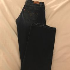 I just discovered this while shopping on Poshmark: Pre- loved juniors Levi boot c.... Check it out!  Size: 3J, listed by tiffrausch