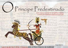 O príncipe predestinado en @bnodalourense Ourense exiptoloxía xeroglifos actividade infantil