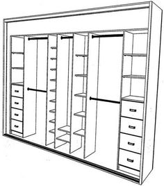closet layout 468444798736587253 - Adelaide S.Aust Shower Screens & Robes 235 322 More Source by Walk In Closet Design, Bedroom Closet Design, Master Bedroom Closet, Bedroom Wardrobe, Wardrobe Closet, Wardrobe Design, Closet Designs, Closet Space, Bedroom Storage