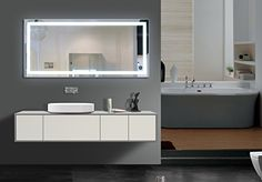 ILLUMINATED MIRROR Harmony 60 X 28 in by IB MIRROR *** Visit the image link more details.
