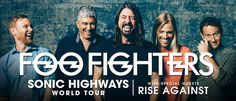 Foo Fighters Sonic Highways Tour 2015 Australia & New Zealand with ...